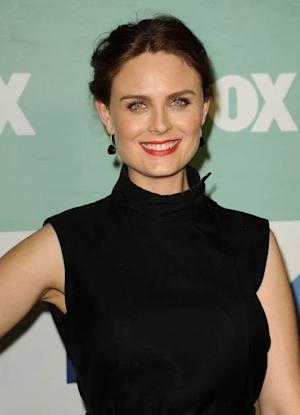 Emily Deschanel attends the FOX All-Star Party on August 1, 2013 in West Hollywood -- Getty Images