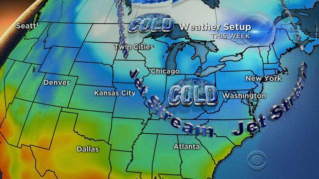 Bitter-cold temperatures make a comeback in the Midwest