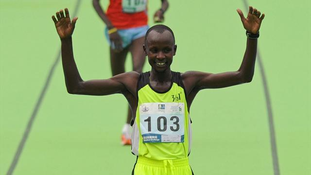 Athletics - Kenya's Maisei third time lucky in Hong Kong marathon