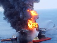 Two BP supervisors have pleaded not guilty to manslaughter charges over a deadly oil rig blast
