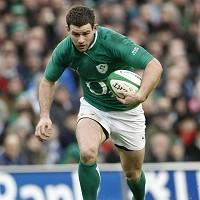 Fergus McFadden will be Ireland's most capped starting back against Fiji on Saturday