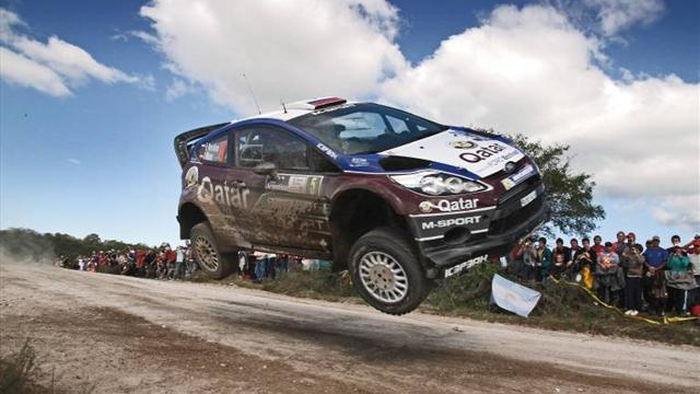 WRC - Novikov grabs shock early lead in Greece