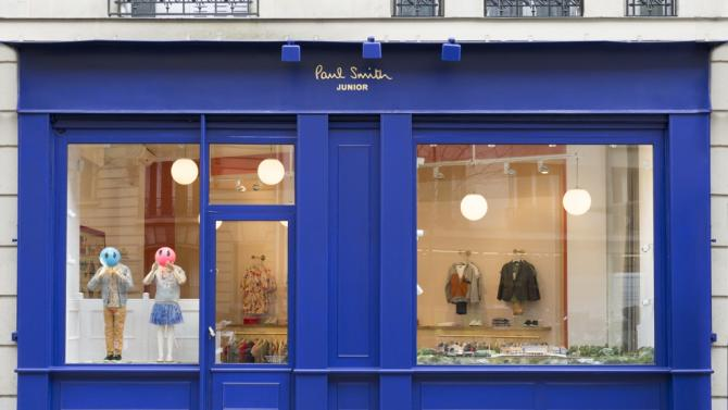 paul smith opens first 39 junior 39 store in europe yahoo news. Black Bedroom Furniture Sets. Home Design Ideas