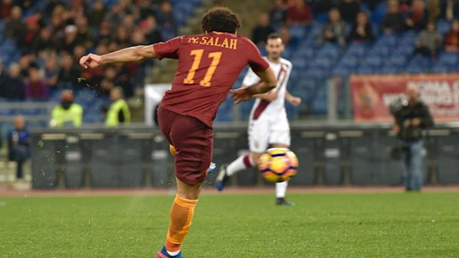Mohamed Salah amongst the goals in Roma victory