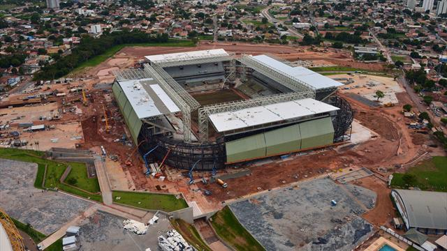 World Cup - Worker killed in electrical accident at Brazil stadium