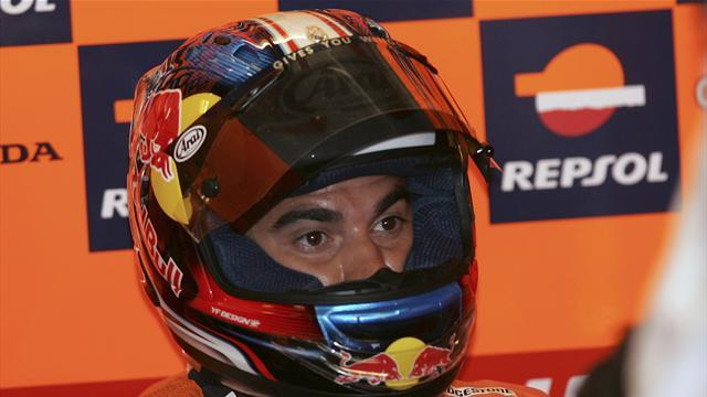 Pedrosa sets record Aragon pace