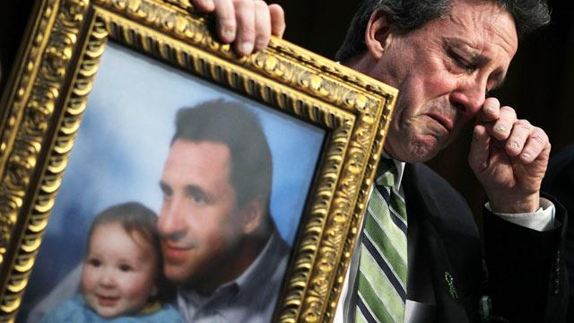Newtown Dad's Tearful Senate Plea for Assault Weapons Ban