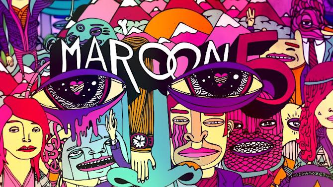 "This CD cover image released by A&M/Octone Records shows the latest release by Maroon 5, ""Overexposed."" (AP Photo/A&M/Octone Records)"