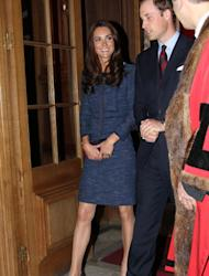 As the Queen's Jubilee approaches, the Duke and Duchess of Cambridge have a diary packed with royal appointments. Yesterday we saw Prince William and Kate Middleton at the London première of 'African Cats', for which the DoC chose to wear a chic Matthew Williamson number