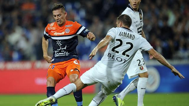 Ligue 1 - Rennes go fifth after holding Montpellier