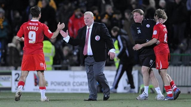 League One - Tubbs asks for patience