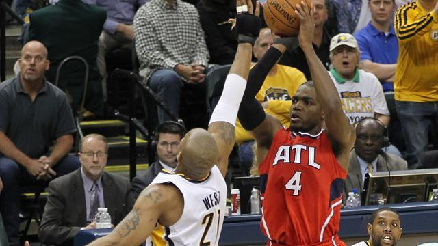 Basketball - Hawks move to brink of series win over Pacers