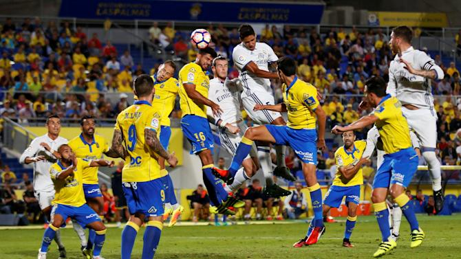 Football Soccer - Spanish Liga Santander - Las Palmas v Real Madrid
