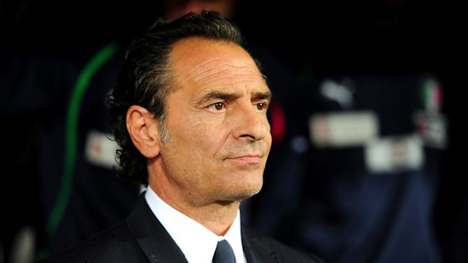 Cesare Prandelli says Italy are focused on beating Ireland and not worried about other scenarios