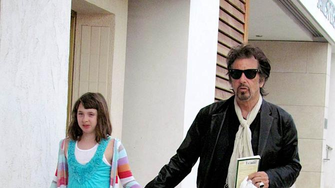 Al Pacino Daughter Beverly Hills