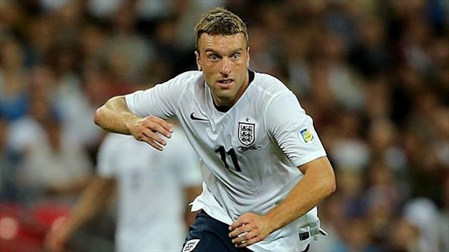 Rickie Lambert is set to win his third England cap on Tuesday