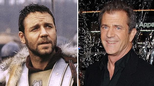 Russell Crowe and Mel Gibson