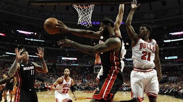 Miami Heat-Chicago Bulls, LeBron James, Jimmy Butler (Reuters)