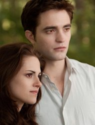 Kristen Stewart and Robert Pattinson in a scene from 'Twilight Saga: Breaking Dawn - Part 2' -- Summit Entertainment