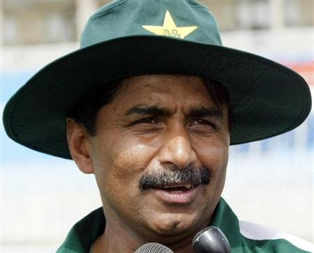 FORMER PAKISTAN CRICKET TEAM COACH IN PINDI STADIUM IN RAWALPINDI.