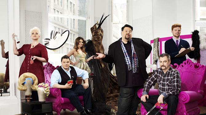 """The cast of """"Mad Fashion."""""""