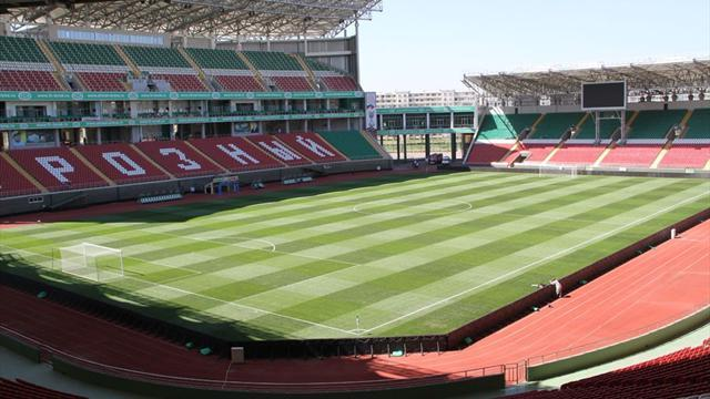 European Football - Grozny to host Russian Cup final
