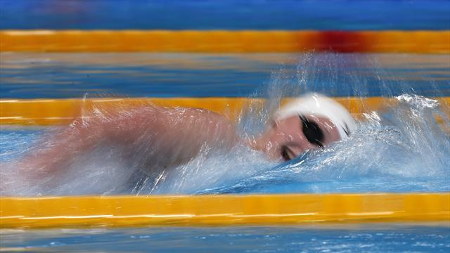 Swimming - Ledecky's coach coy before 1,500 metres final