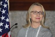 US Secretary of State Hillary Clinton, seen here during a press conference in Dhaka, on March 5. Clinton headed to India on Sunday with hopes of reinvigorating a relationship seen as losing steam despite years of efforts to bring the world's two largest democracies closer