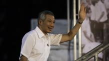 GE2015: PM Lee says 'heart has to be right' in politics, in first rally