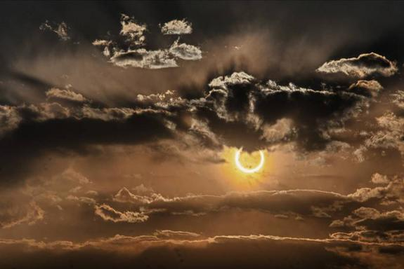 Solar Eclipse Turns Sun Into 'Ring of Fire' This Week
