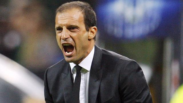 Champions League - Allegri unflappable as ever after Milan struggle