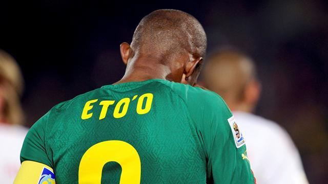 World Cup - Hamstrung Eto'o to miss qualifier