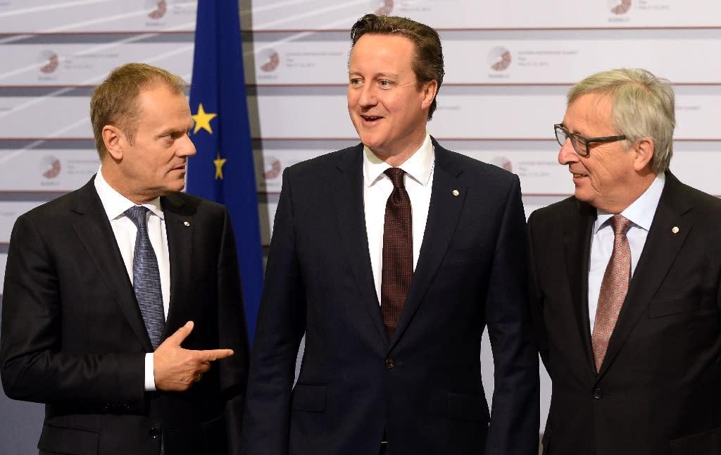 Cameron 'confident' of EU reform deal before UK referendum