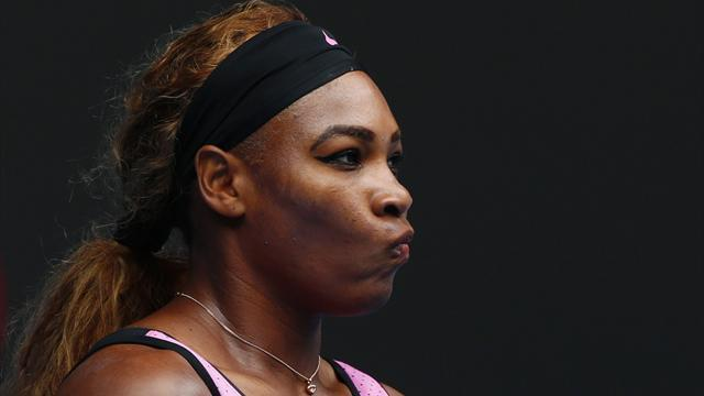 Tennis - Serena Williams suffers shock loss to world number 78