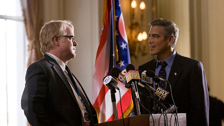 The ides of March 2011 Columbia Pictures Philip Seymour Hoffman George Clooney