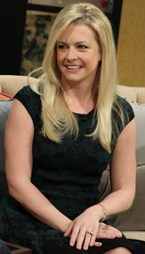 Melissa Joan Hart stops by Access Hollywood Live on November 12, 2013 -- Access Hollywood