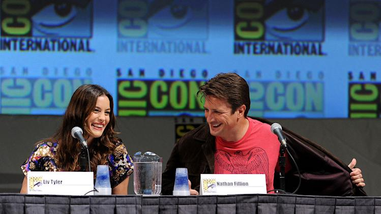 2010 Comic Con Panels Liv Tyler Nathan Fillion