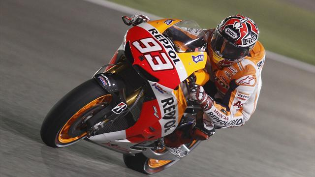 Motorcycling - Marquez continues to set Indy pace