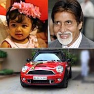 Aaradhya Bachchan Gets A Brand New Car On Her First Birthday!