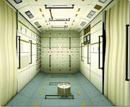 A look inside China's Tiangong 1 space lab, which launched into orbit in September 2011.