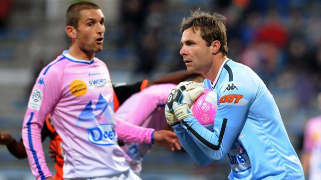 Ligue 1 - Evian goalkeeper Andersen joins Real Betis