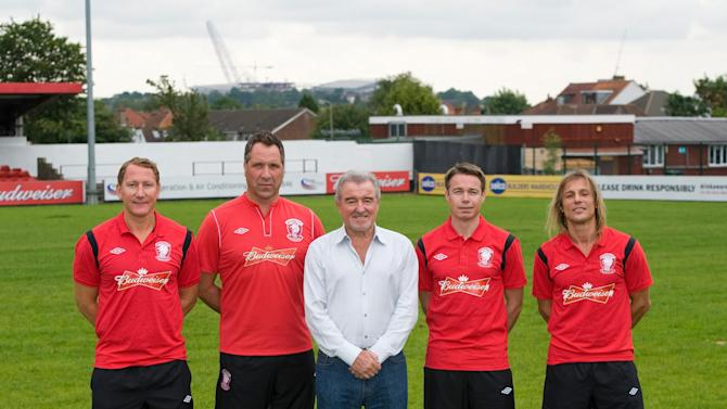 Wembley FC have recruited several international stars for their FA Cup campaign