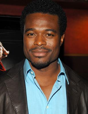 Lyriq Bent at the Los Angeles premiere of Lionsgate Films' Saw IV