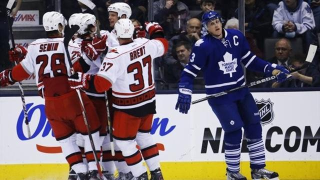 NHL - Staal brothers power Hurricanes past Maple Leafs