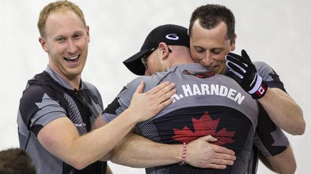 Curling - Canadians thank mouthy British coach for firing them to gold