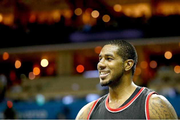 In nine seasons with Portland, LaMarcus Aldridge has played in 648 regular-season games and averaged 19.4 points and 8.4 rebounds