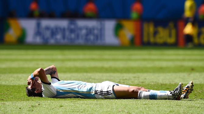 World Cup - Reports: Di Maria ruled out for remainder of Brazil finals