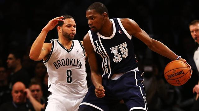 NBA - Thunder firepower too much for Nets