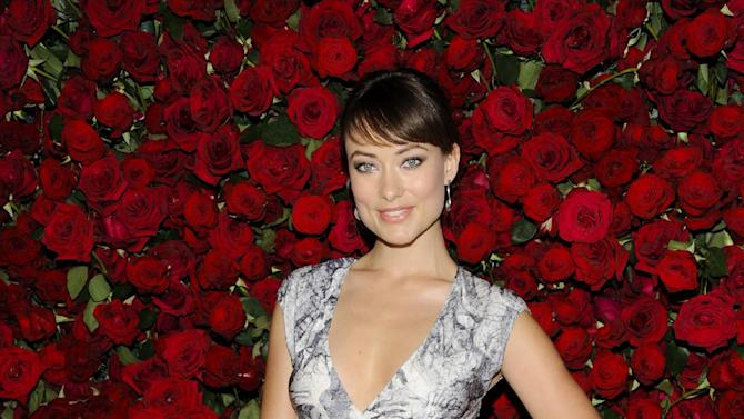 Actress Olivia Wilde attends The Museum of Modern Art Film Benefit tribute to Pedro Almodovar on Tuesday, Nov. 15, 2011 in New York. (AP Photo/Evan Agostini)