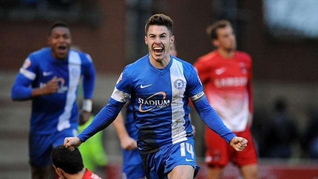 League One - Peterborough claim dramatic late win